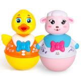 Kind-Plastikpädagogisches ohne umgekehrtes Quaken-Ente-Baby-Spielzeug