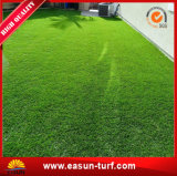 Hierba artificial del jardín del césped sintetizado verde del césped