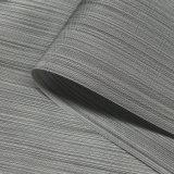수화물과 부대를 위한 200d 양이온 줄무늬 자카드 직물 PU 입히는 옥스포드 직물