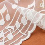 新しい試供品のナイロンギピールレースの網衣服のための安いファブリックレース