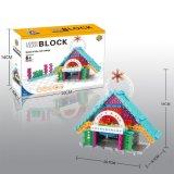 los bloques de la serie de los edificios del kit del bloque 14885501-Micro fijaron el juguete educativo creativo 47PCS - cabaña de DIY del Fairy-Tale