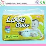 2017新しい赤ん坊の製品によって着色される使い捨て可能な赤ん坊のおむつ