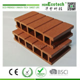 Eco-Friendly WPC Decking/150*25mm WPC 옥외 Decking 또는 빈 WPC Decking