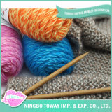 Mistura Cor do desconto Ouro Lã Kid Mohair Knitting Yarn