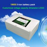 Batería de litio de 12V60ah Batería de litio al aire libre de gran capacidad de la batería del cuaderno Batería de litio de reserva externa de la emergencia