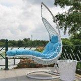 새로운 디자인으로 최고 판매 옥외 정원 인공적인 등나무 가구 그네 의자