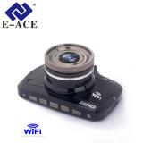 Alquiler de caja negra de 2,7 pulgadas con guión de la cámara grabadora WiFi