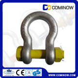 G2130 мы тип сережка анкера стали углерода с болтом безопасности/падением выковало гальванизированную сережку смычка