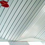 باع بالجملة [متريلس] فنيّة جديدة [غ] شكل بيضاء شريط سقف قراميد