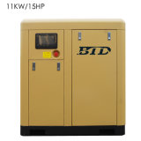 Compressor de ar 11kw/15HP do parafuso de Btd