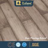 suelo de madera laminado tablón del vinilo del roble de la textura del arce del entarimado de 12.3m m