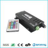 LED音楽IRのRGBライトストリップのために敏感な遠隔コントローラの音
