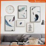 La parete del blocco per grafici della tela di canapa della stampa di Digitahi degli alci descrive l'arte per il salone