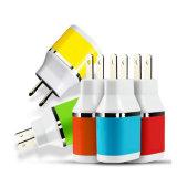 携帯電話のアクセサリの製造業者5V2.1Aは充電器USB旅行壁の二倍になる