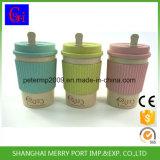 Tazza di caffè ecologica della fibra del frumento del commercio all'ingrosso di prezzi di fabbrica