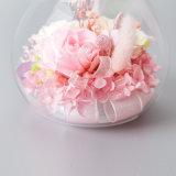 昇進は結婚式のクリスマスのために花のギフトを維持した