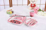 Eco-Friendly Bamboo Fiber Kids Dinnerware Sets