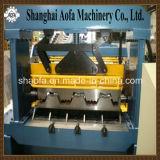Automático de corte de acero de metal de piso de rodillo de plataforma que forma la máquina de maquinaria