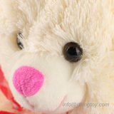 Wholesale Teddy Bear Happy Valentine' S Day Gift Plush Toy with Red Heart