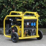 O gerador pequeno portátil de confiança 5.5HP da gasolina do bisonte (China) BS2500g 2kw 2kVA dirige o gerador do biogás