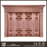 Woodwin neue Entwurfs-hochwertige Handarbeit-reine kupferne Tür