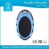Batería deportiva de la potencia de la dimensión de una variable linda solar impermeable del cargador 5000mAh de la batería de la energía solar