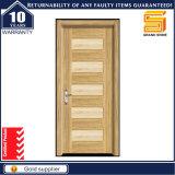 Porte en bois stratifiée par PVC en bois de forces de défense principale de mélamine de salle d'Inteiror