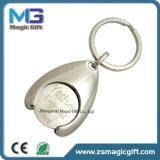 Le vendite calde hanno personalizzato il disco metallico da conio simbolico promozionale di marchio Keychain