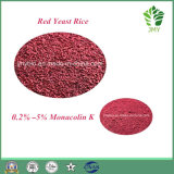 Extrait de riz 100% naturel de levure rouge Monacolin 5%, cholestérol sanguin inférieur