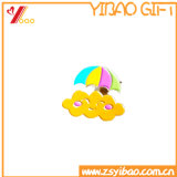 Logotipo personalizado insignia de PVC de dibujos animados Cute Pins prendedores de PVC de regalo (YB-HD-106)