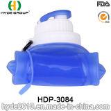 500ml BPA liberano la bottiglia di acqua di sport della plastica, bottiglia pieghevole di sport della plastica (HDP-3084)