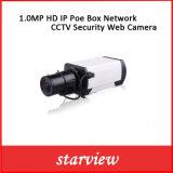 камера стержня обеспеченностью CCTV сети коробки IP Poe 1.0MP HD