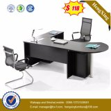 Moderner Executivschreibtisch-ausgeglichenes Glas-Tisch-Oberseite-Büro-Tisch (HX-ET14016)