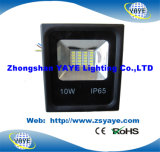 Projector cheio quente do diodo emissor de luz de /SMD das luzes de inundação do diodo emissor de luz do watt SMD5730 do Sell USD4.15/PC 10W de Yaye 18 com Ce/RoHS/2 anos de garantia