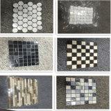 Gelbes Schiefer-Mosaik-Medaillon für Wand-Dekoration (mm041)