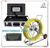 Abwasserkanal-Kamera-Kopf-Rohr-Inspektion mit Längen-Kostenzähler u. Schlüsselvorständen