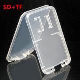 Superdünn 2 in 1 schützendem transparentem Plastikkarten-Kasten für Ableiter-Mikro-Ableiter-Karte