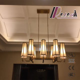 Moderne antike Messingvorhalle-hängende Lampe für Hotel-Projekt