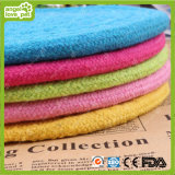 Süßigkeit-Farben-Baumwolseilfrisbee-Haustier-Spielwaren