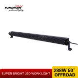 Barra chiara di 288W LED di alto potere 50 '' per indicatore luminoso fuori strada