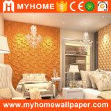 Панель стены 3D нутряной стены комнаты потолка Hall живущий выбитая украшением