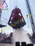 Gancho agarrador de dragado hidráulico eléctrico del motor subacuático para la arena y el fango
