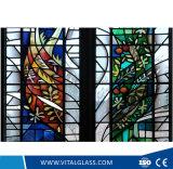 Искусство Декоративное стекло в окне церкви
