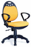 プロジェクト設計のオフィス赤いファブリックコンピュータの椅子