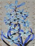 Corte mural da mão do mosaico