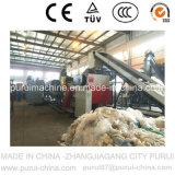 Película agrícola de los PP del PE plástico inútil que recicla la lavadora