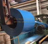Bobina de aço revestida de cor Ral 9003, rolos de telhado de chapa metálica, cofre de aço galvanizado para telhados PPGI
