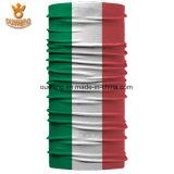 多機能のカスタム国旗の印刷されたMicrofiberポリエステルバンダナ