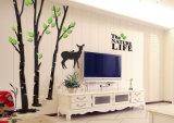 Wohnzimmer-Dekoration-Acrylwand-Abbildung