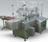 Линейный тип малая машина для прикрепления этикеток машины завалки минеральной вода емкости